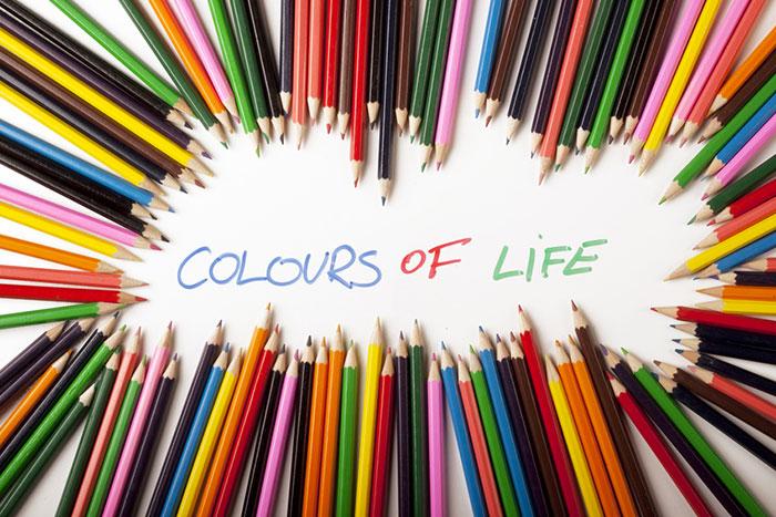 Il colore nella nostra casa, nella nostra vita!