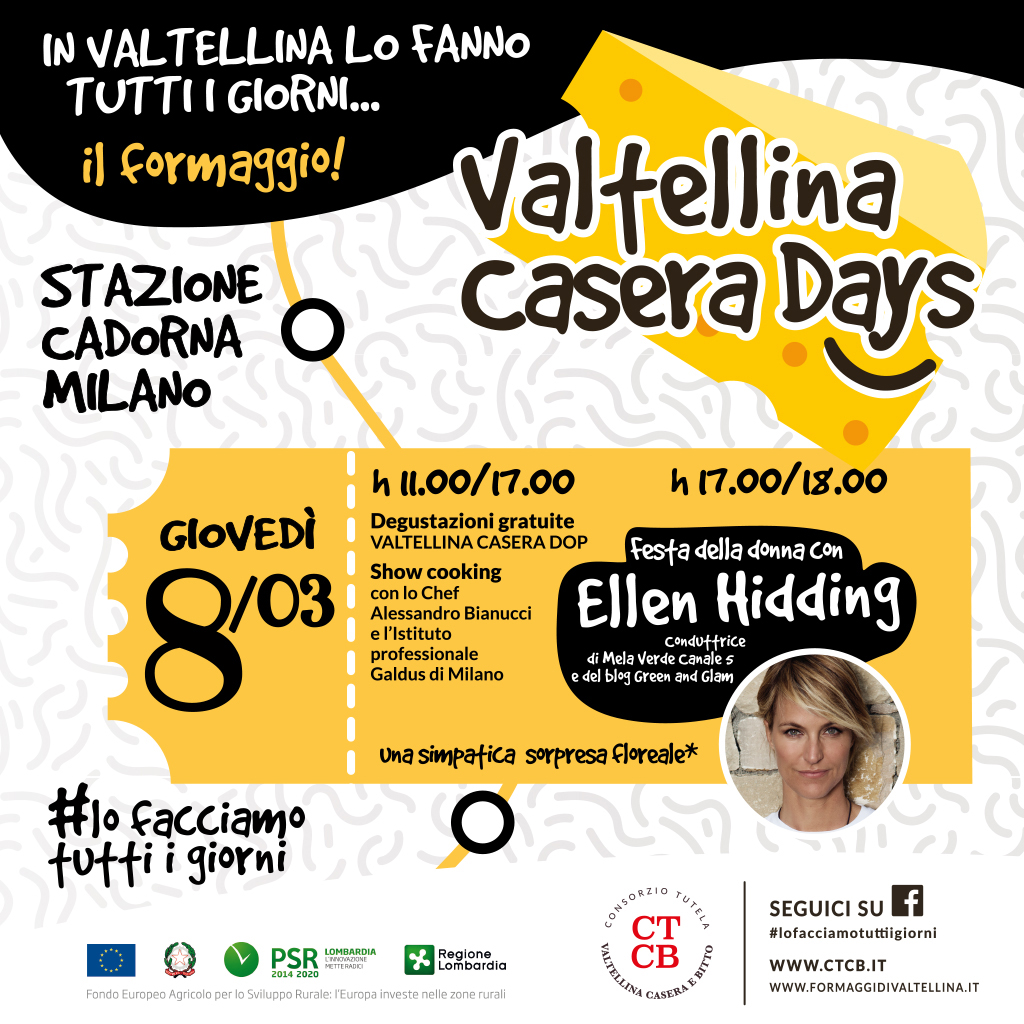 Tour Valtellina Casera Dop con Elen Hidding