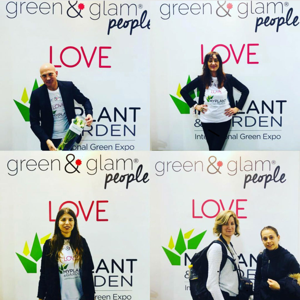 Green & Glam people alla fiera di Milano My Plant & Garden 2018