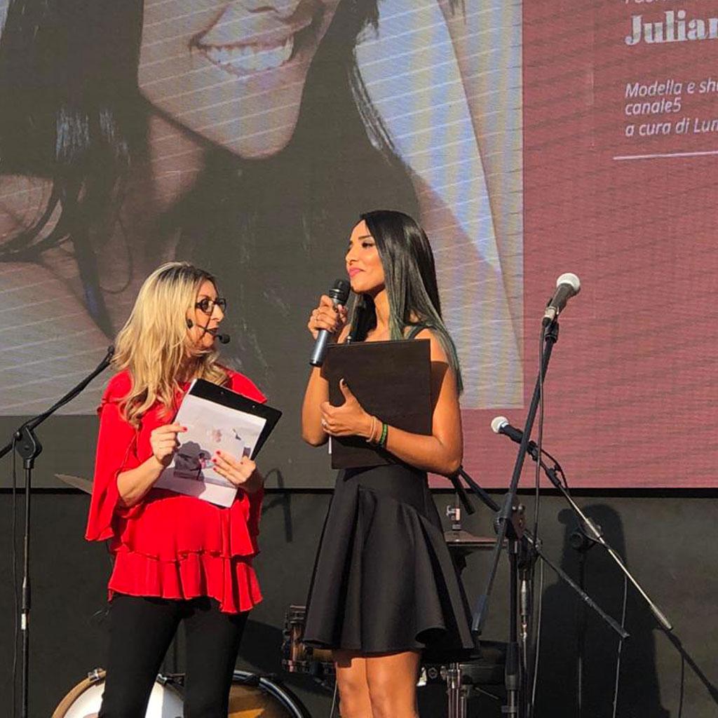 Lungo Livigno Fashion Show 2018 con Juliana Moreira - evento Green & Glam